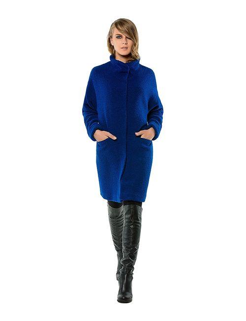 Helmidge | Женское Синее Пальто
