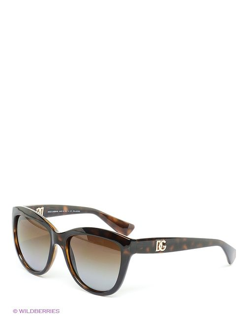 Dolce & Gabbana | Женские Коричневые Солнцезащитные Очки