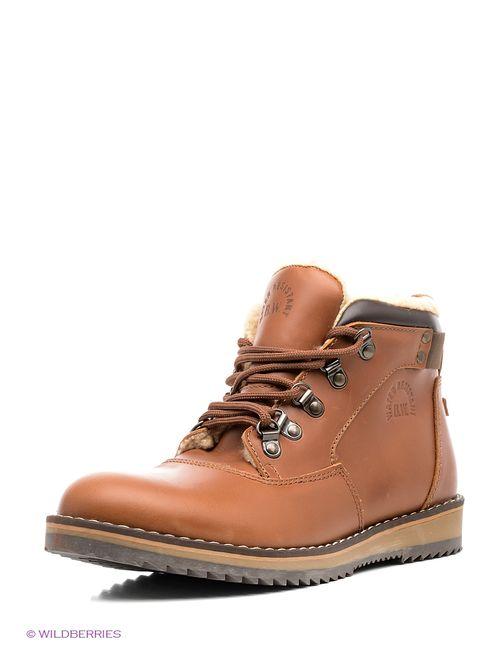 Best Walk | Мужские Коричневые Ботинки