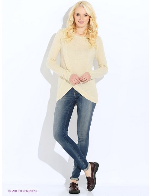 Vero Moda | Женские Молочные Пуловеры