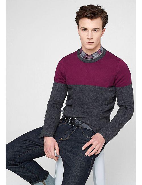 s.Oliver | Мужские Серые Пуловеры