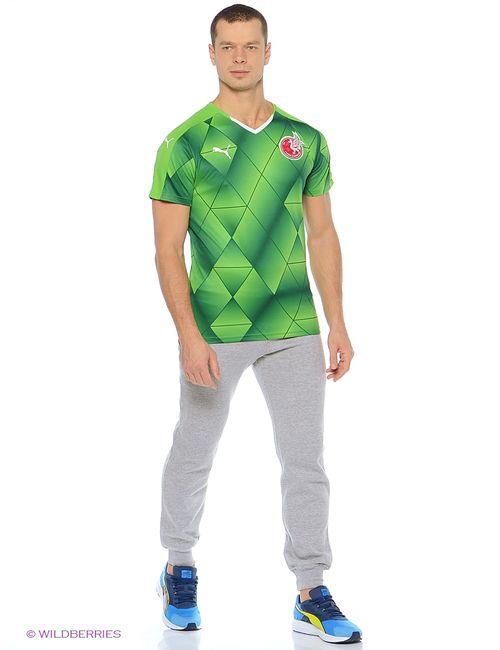 Puma | Мужская Зелёная Футболка