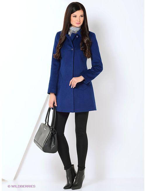 Shokolat | Женское Синее Пальто