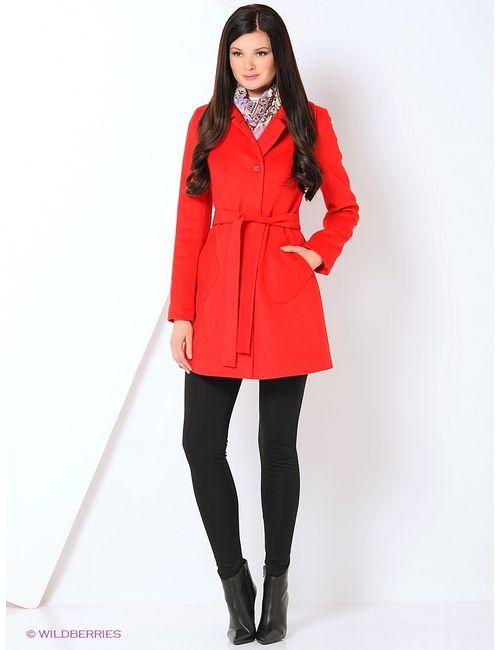 Shokolat | Женское Красное Пальто