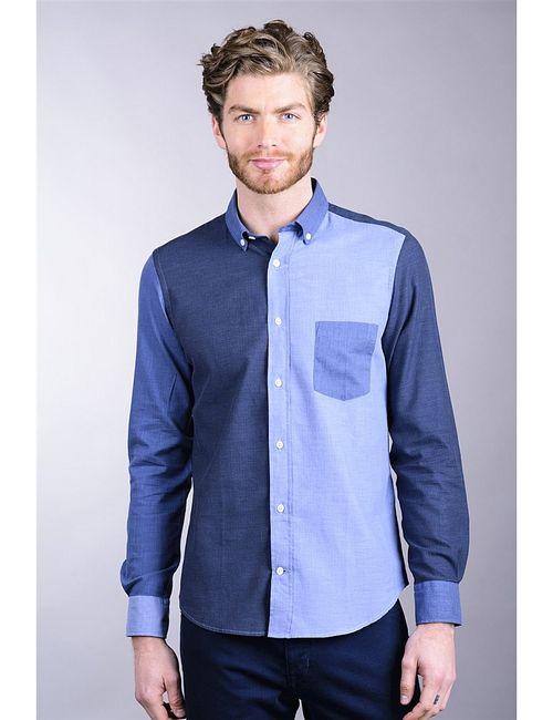 Eden Park | Мужские Синие Рубашки