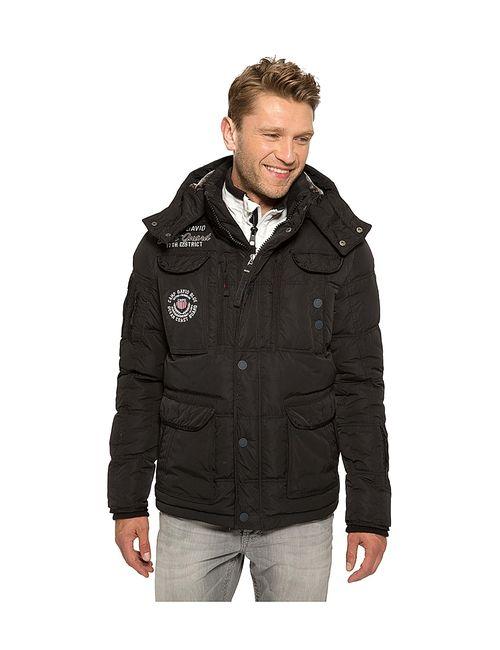 Camp David | Мужские Чёрные Куртки