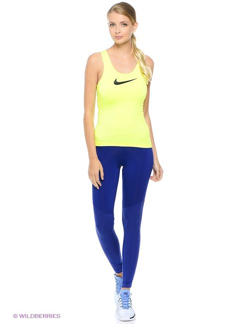 Nike | Женские Синие Леггинсы