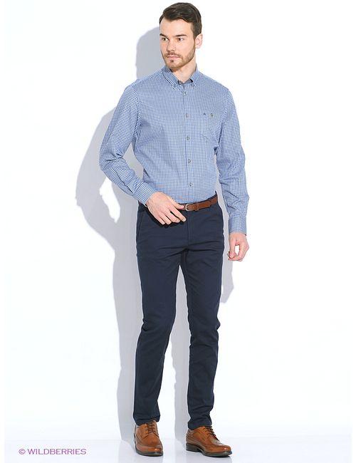 LERROS | Мужские Синие Рубашки