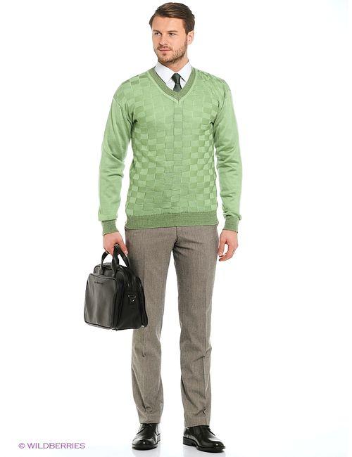 Veronika Style | Мужские Зелёные Джемперы