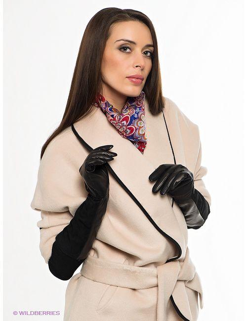Eleganse   Женские Чёрные Перчатки