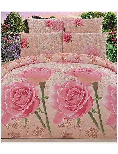 Jardin | Женское Розовое Постельное Белье