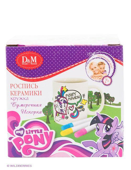 Делай с мамой | Фиолетовые Наборы Для Вышивания