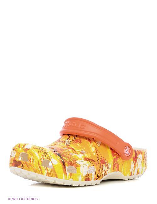Crocs | Мужское Оранжевое Сабо