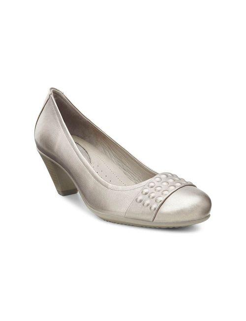 Ecco | Женские Серебристые Туфли