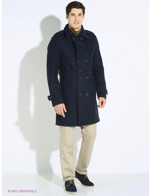 Oodji | Синее Пальто