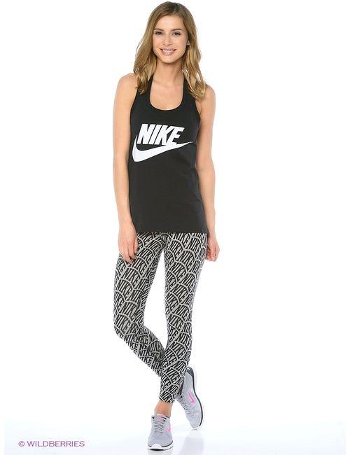 Nike   Женские Чёрные Леггинсы