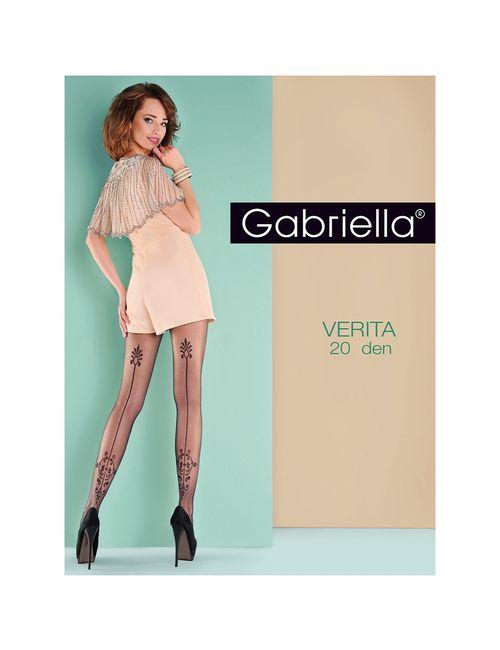 Gabriella | Женские Чёрные Колготки