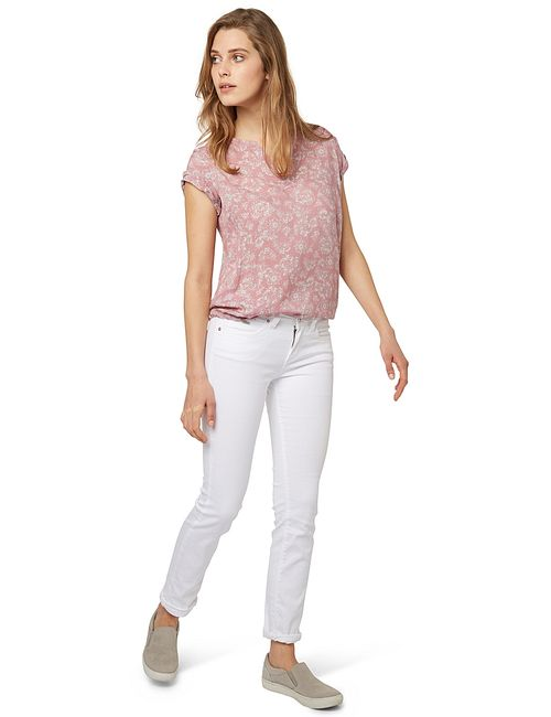 TOM TAILOR | Женские Розовые Рубашки