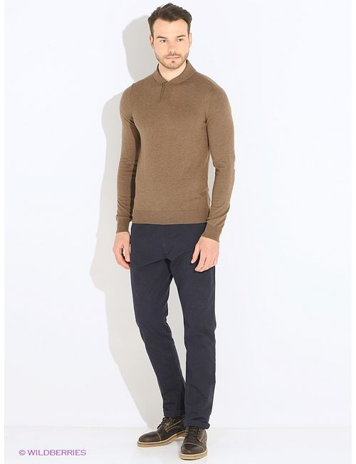 Oodji | Мужские Коричневые Пуловеры