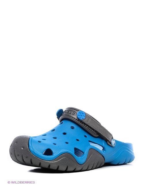 Crocs | Мужское Голубое Сабо