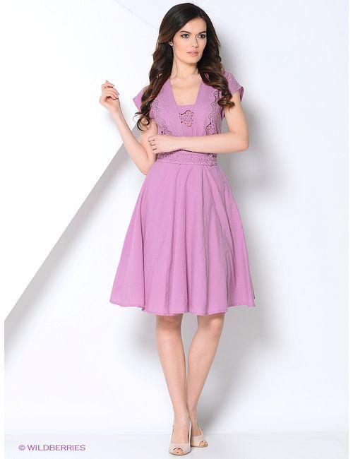 La Fleuriss | Женские Фиолетовые Платья