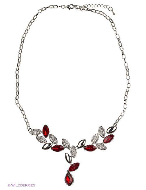 Lovely Jewelry | Женское Красное Колье