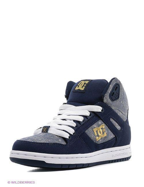 Dcshoes | Женские Синие Кеды Dc Shoes