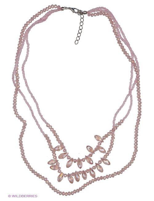 Royal Diamond | Женское Розовое Колье