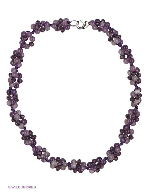 Art Silver | Женское Фиолетовое Колье