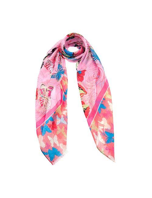 Mellizos | Женские Розовые Палантины