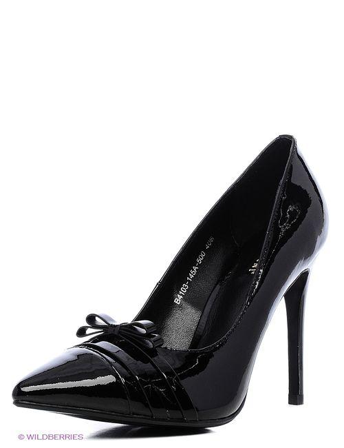Basconi | Женские Чёрные Туфли