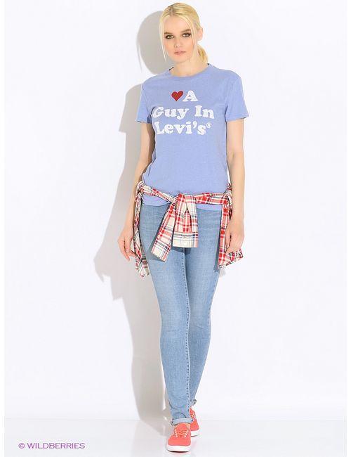 Levi's®   Женская Голуба Футболка