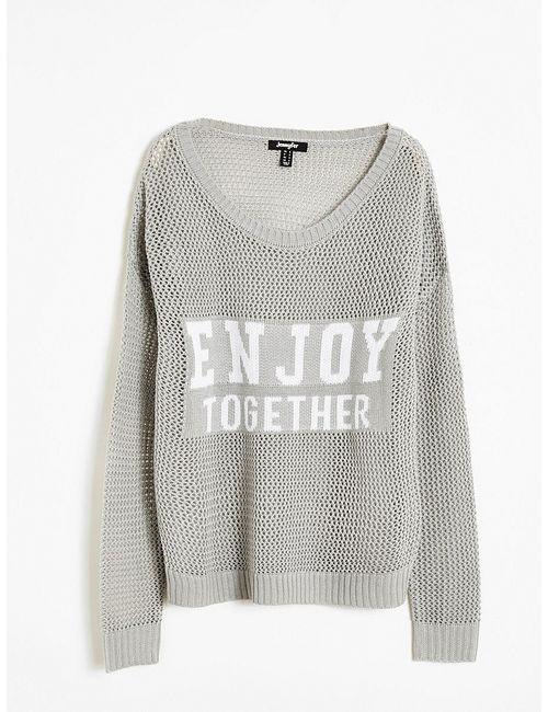 Jennyfer | Женские Серые Пуловеры