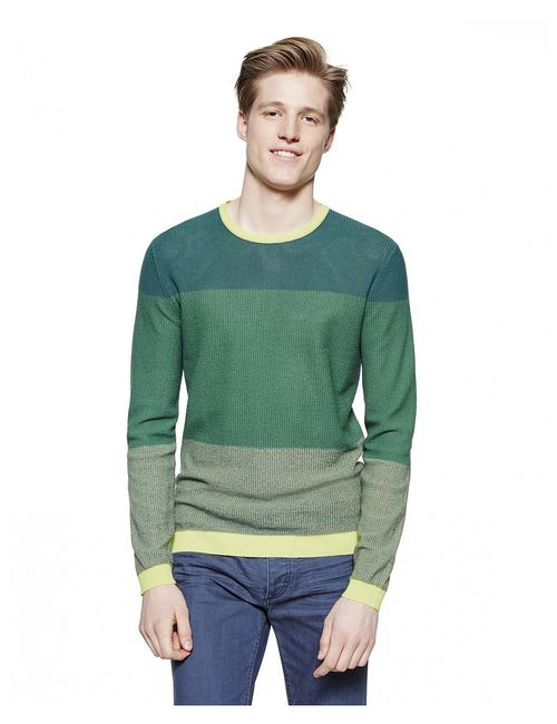 United Colors Of Benetton   Мужские Зелёные Свитеры