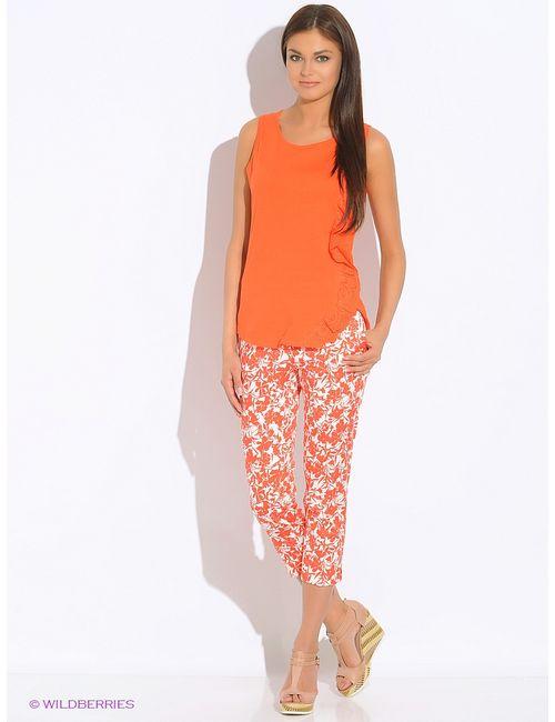 Sisley | Женские Оранжевые Брюки