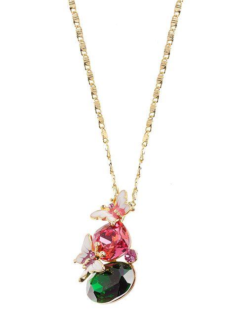 Bijoux Land   Женское Розовое Колье