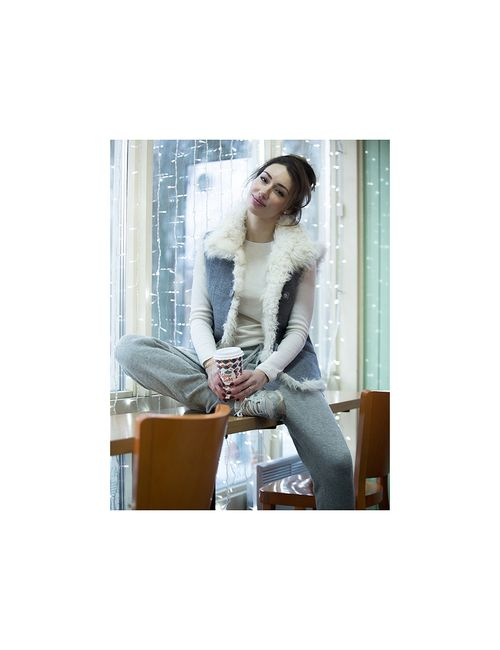 Barashek-Style | Женские Серые Жилеты