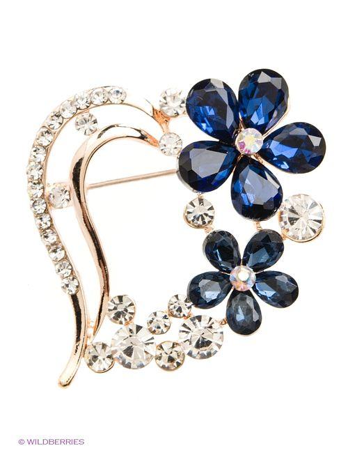 Lovely Jewelry | Женские Синие Броши
