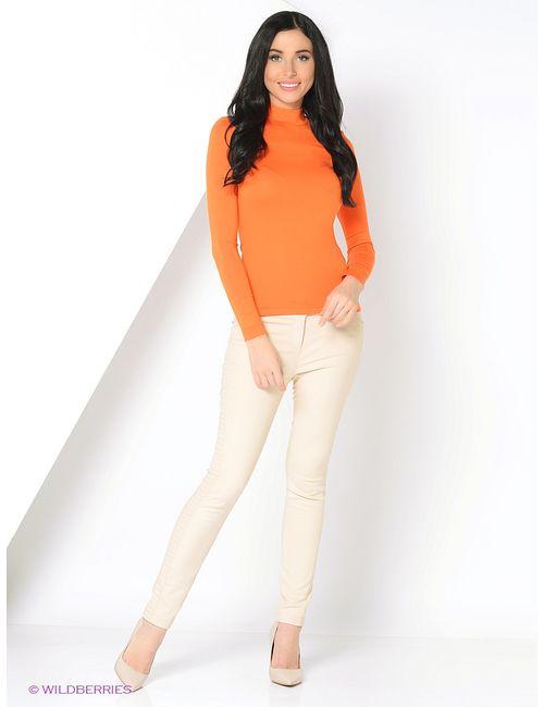 RUXARA | Женские Оранжевые Водолазки