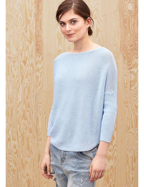 s.Oliver | Женские Голубы Пуловеры