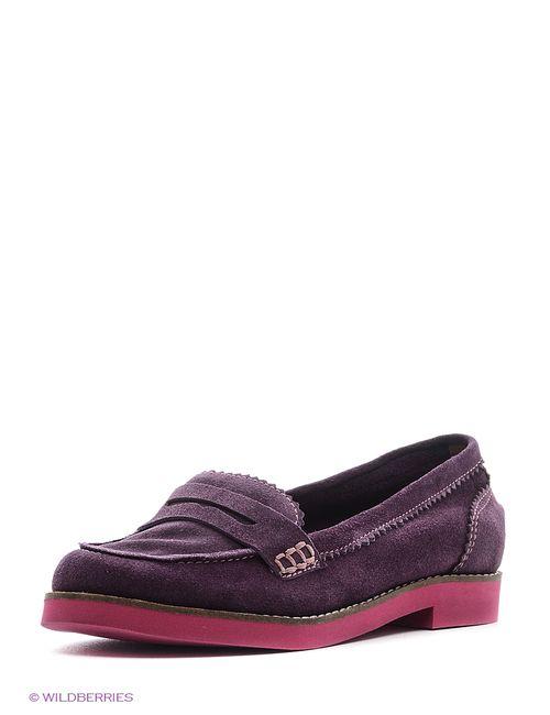 Valley | Женские Фиолетовые Мокасины