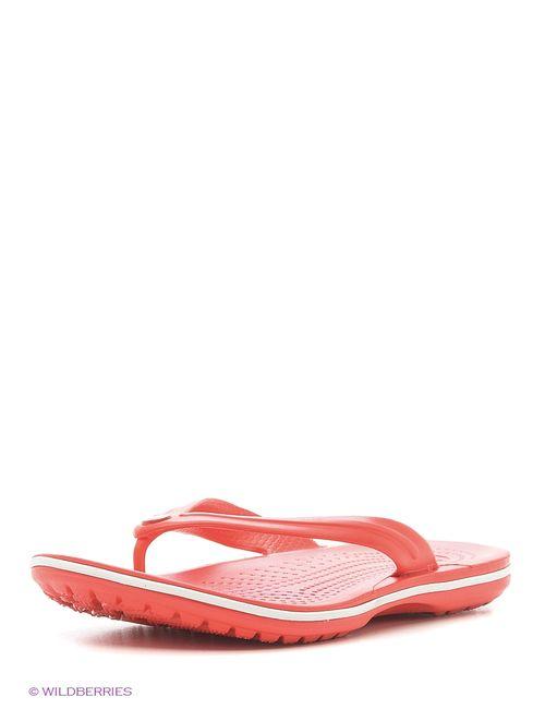 Crocs   Женские Красные Пантолеты