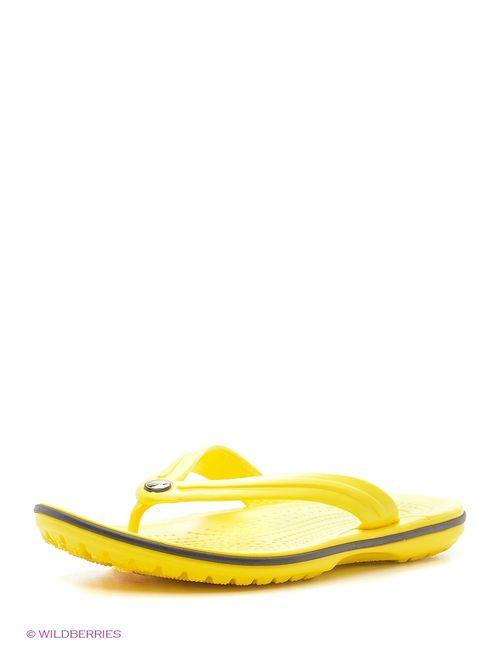 Crocs | Женские Жёлтые Пантолеты