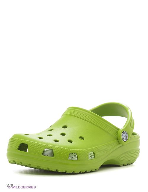 Crocs | Мужское Зелёное Сабо