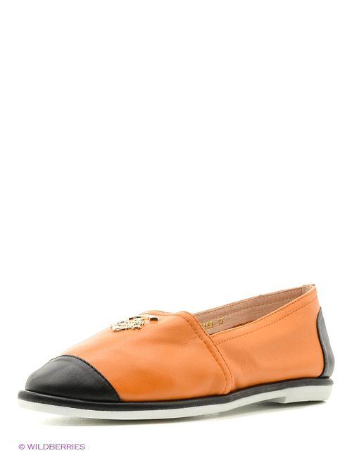 Vitacci | Женские Оранжевые Туфли