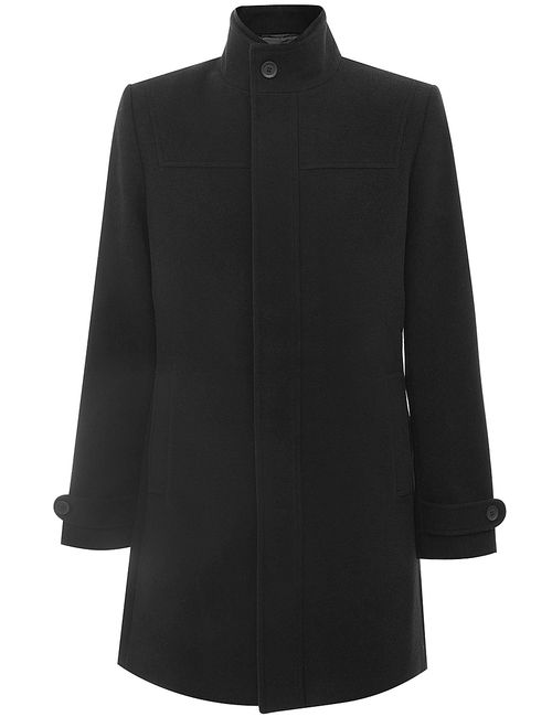 Oodji | Чёрное Пальто