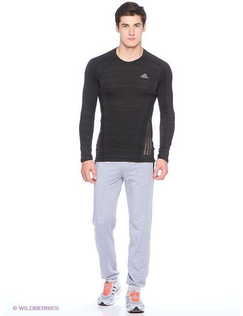 Adidas | Мужской Чёрный Лонгслив