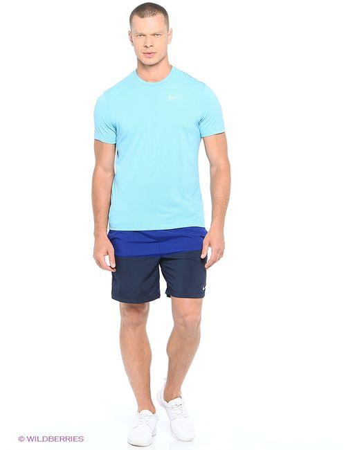 Nike | Мужские Синие Шорты