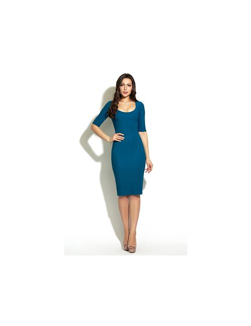 Donna Saggia | Женские Голубы Платья