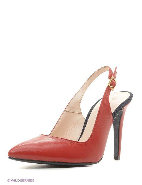 Trussardi | Женские Красные Туфли